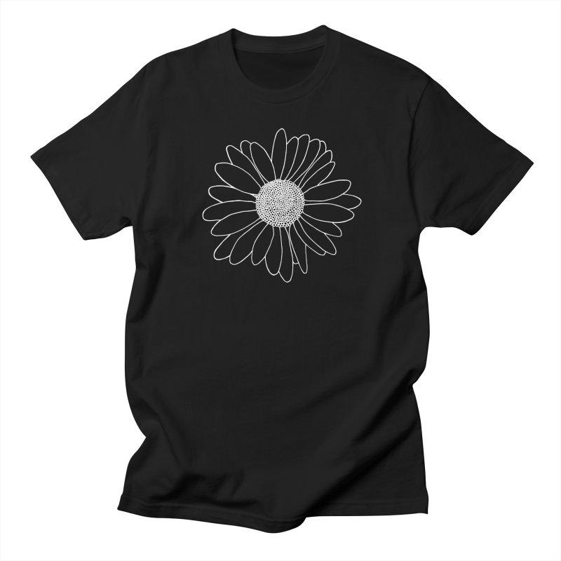 Daisy Grid Women's Regular Unisex T-Shirt by Project M's Artist Shop