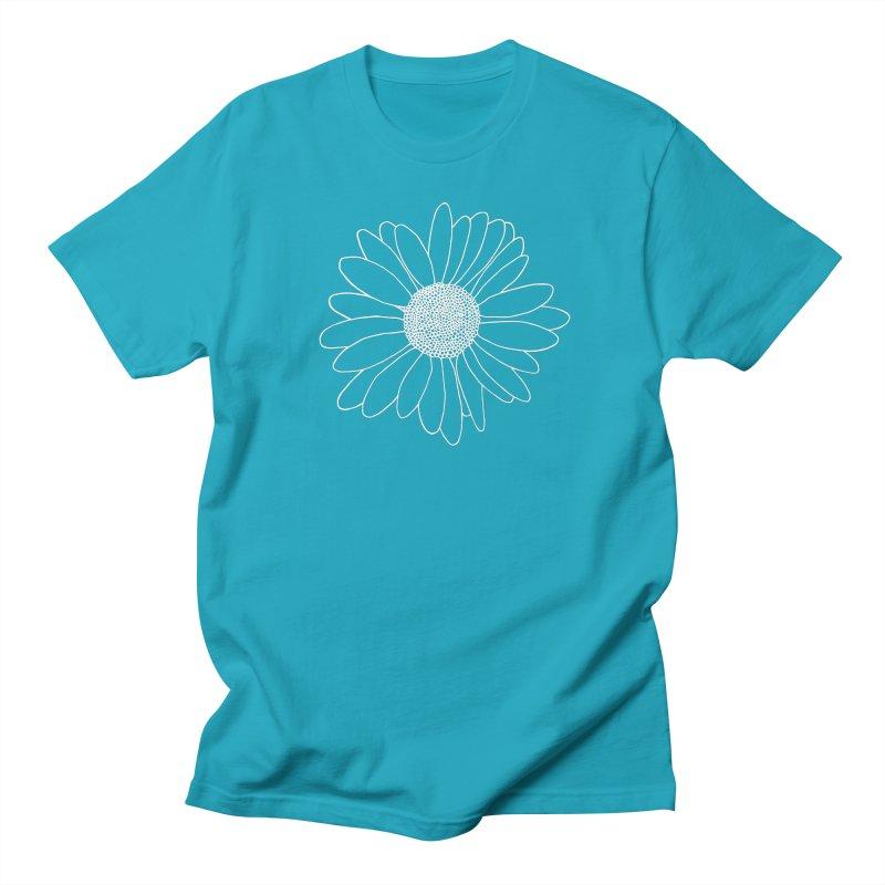 Daisy Grid Men's Regular T-Shirt by Project M's Artist Shop