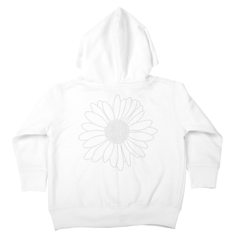 Daisy Grid Kids Toddler Zip-Up Hoody by Project M's Artist Shop