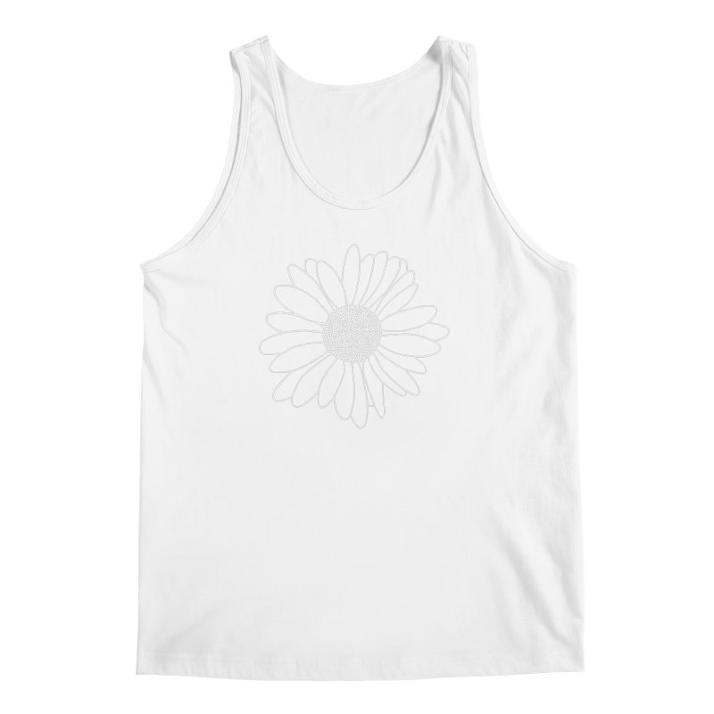 Daisy Grid Men's Regular Tank by Project M's Artist Shop