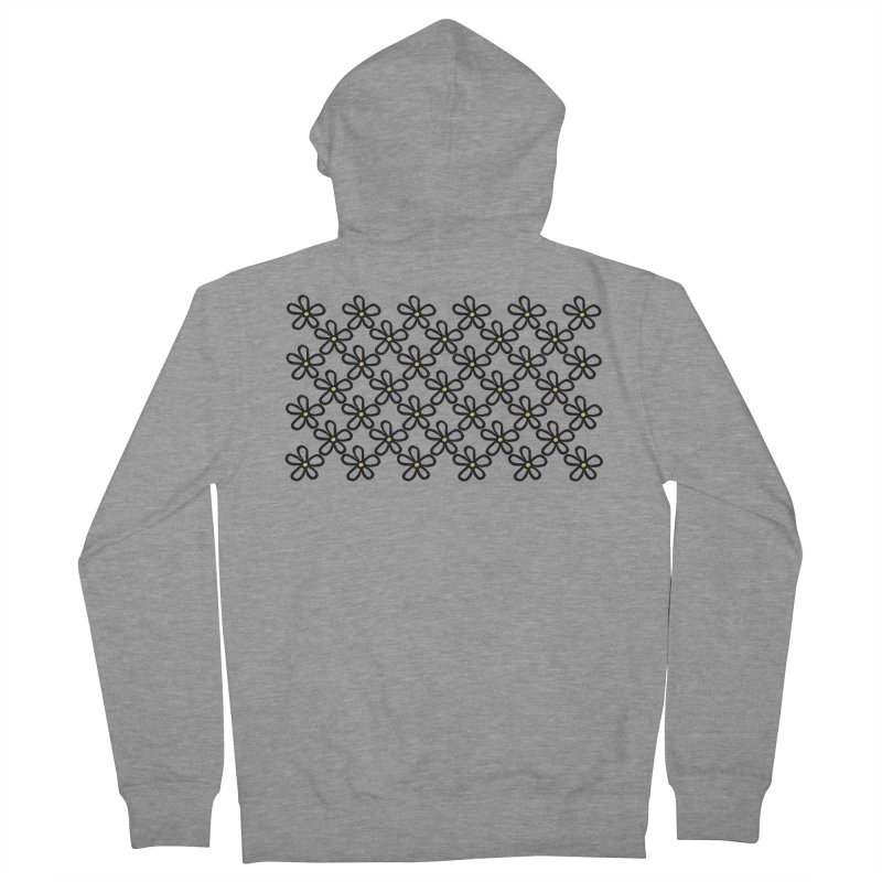 Daisy 45 Men's French Terry Zip-Up Hoody by Project M's Artist Shop