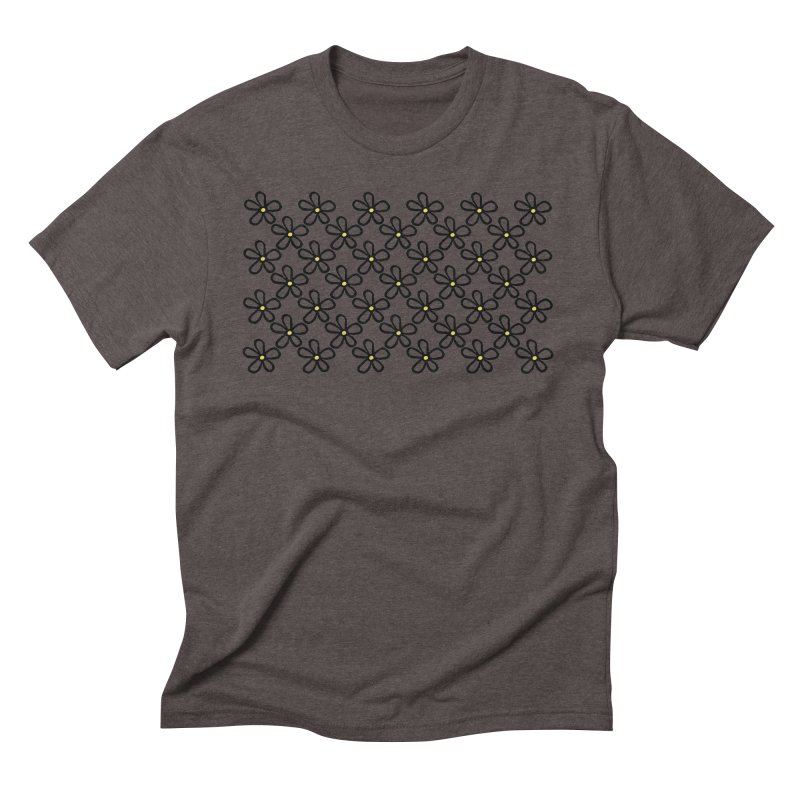 Daisy 45 Men's Triblend T-Shirt by Project M's Artist Shop