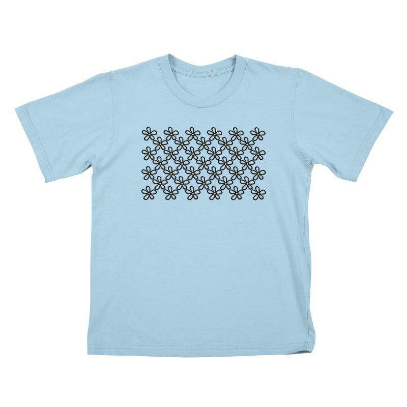 Daisy 45 Kids T-Shirt by Project M's Artist Shop