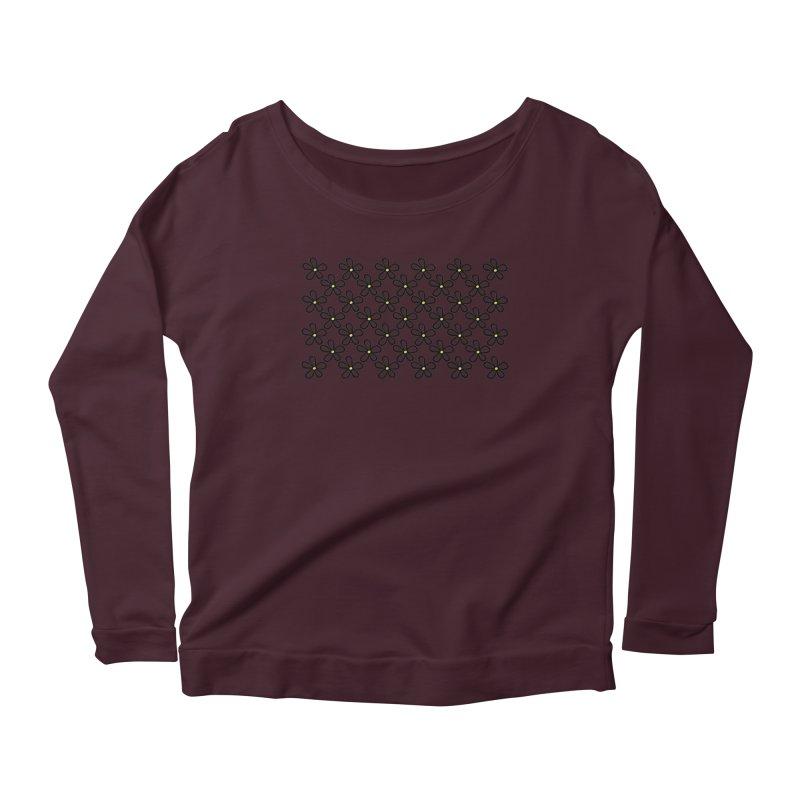 Daisy 45 Women's Scoop Neck Longsleeve T-Shirt by Project M's Artist Shop