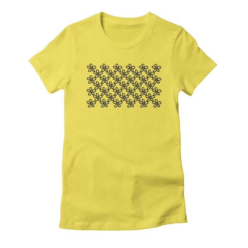 Daisy 45 Women's Fitted T-Shirt by Project M's Artist Shop