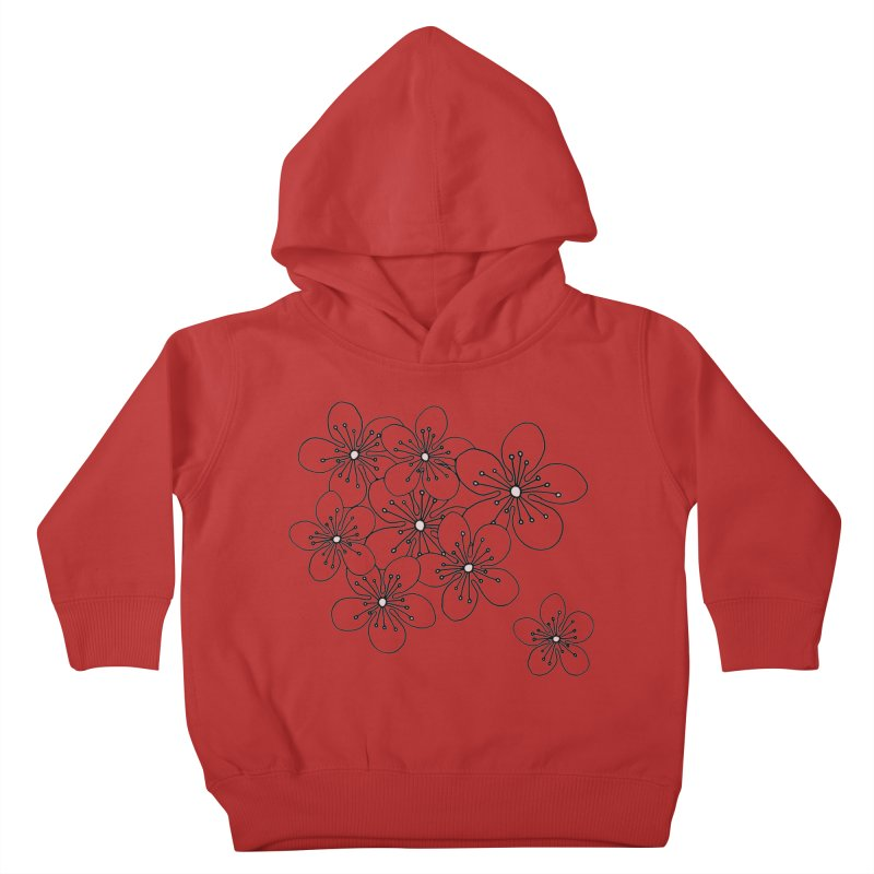 Cherry Blossom Pink and Mint Blocks Kids Toddler Pullover Hoody by Project M's Artist Shop