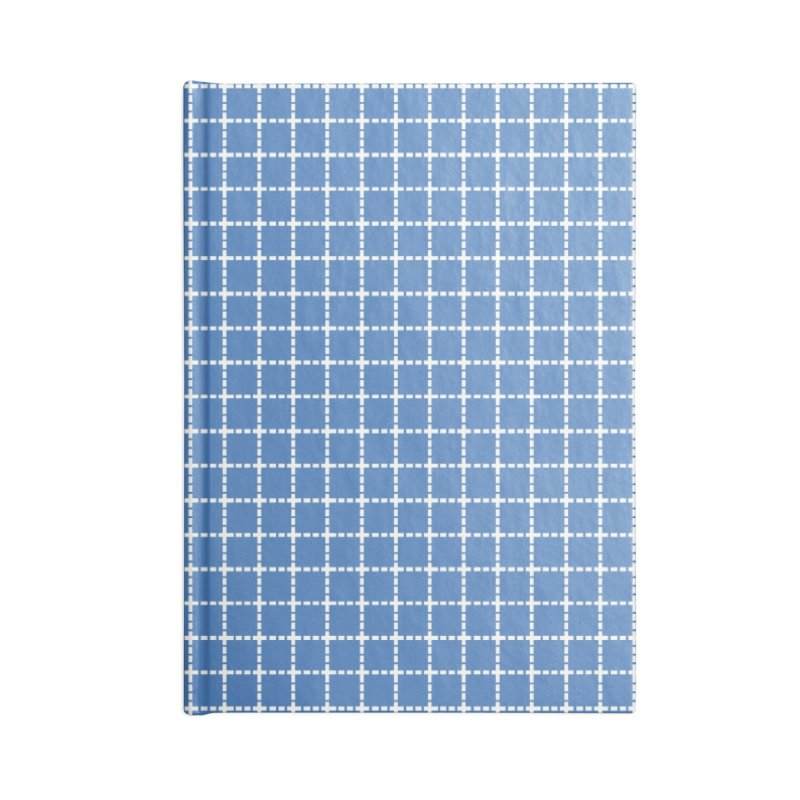 Dotted Grid Blue Accessories Notebook by Project M's Artist Shop