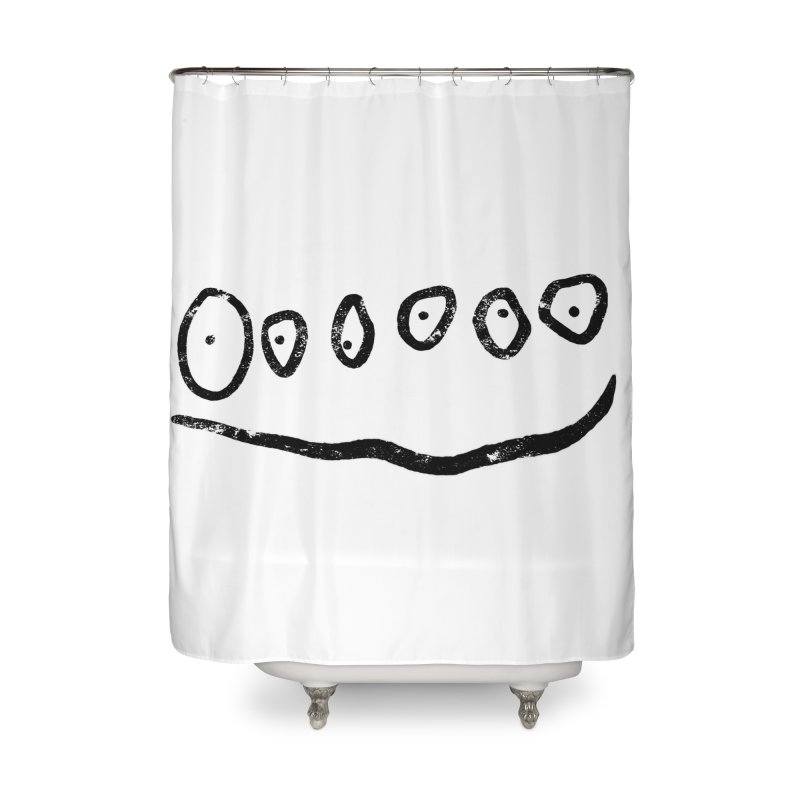 Smilie Eyes Home Shower Curtain by Project M's Artist Shop