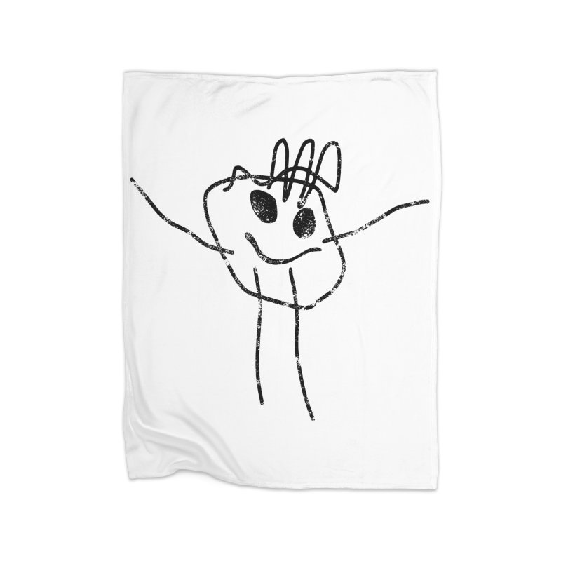 Smilie Man Home Blanket by Project M's Artist Shop