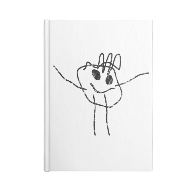 Smilie Man Accessories Notebook by Project M's Artist Shop