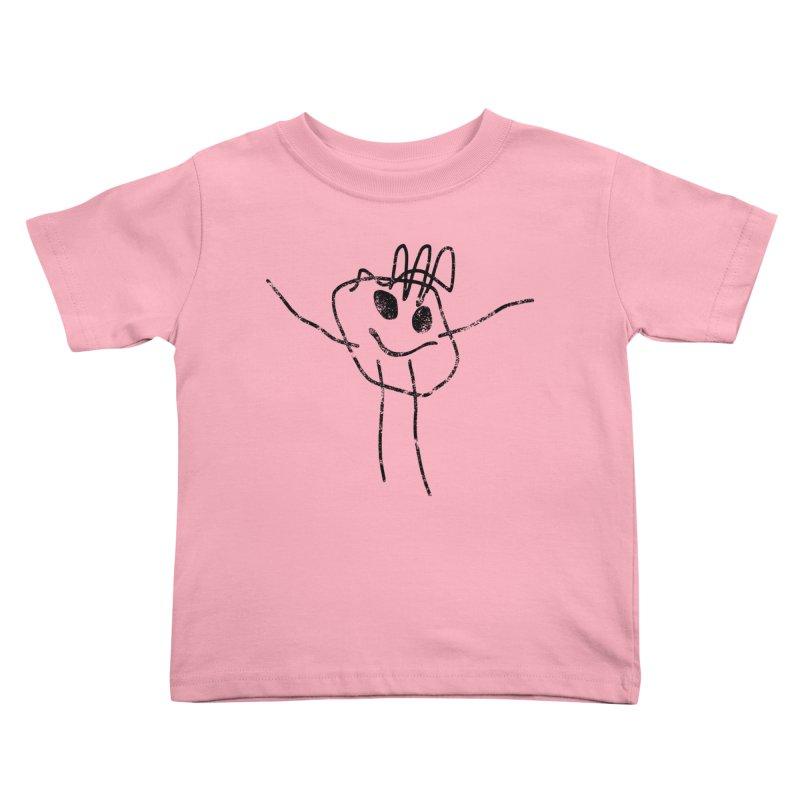 Smilie Man Kids Toddler T-Shirt by Project M's Artist Shop