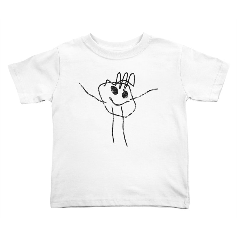Smilie Man Kids Toddler T-Shirt by Project M's Artist Shop