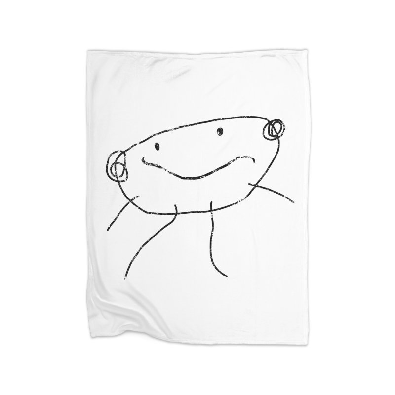Smilie Man 2 Home Blanket by Project M's Artist Shop