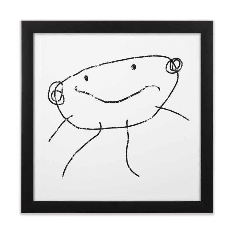 Smilie Man 2 Home Framed Fine Art Print by Project M's Artist Shop