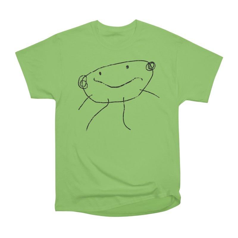 Smilie Man 2 Women's Heavyweight Unisex T-Shirt by Project M's Artist Shop