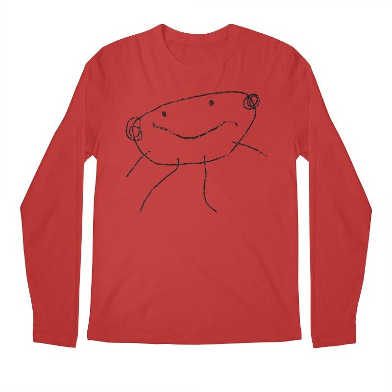 Smilie Man 2 Men's Regular Longsleeve T-Shirt by Project M's Artist Shop