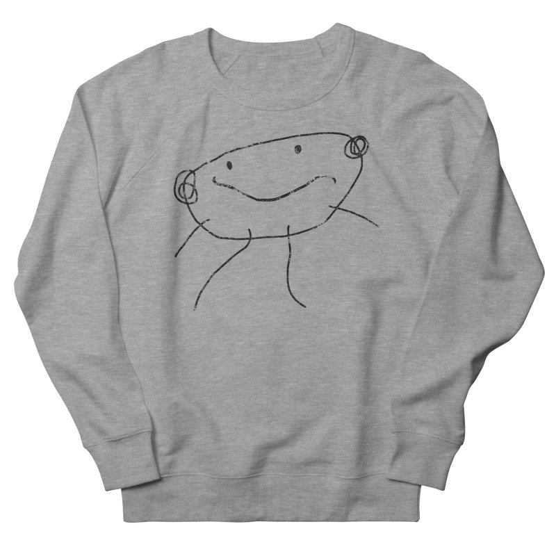 Smilie Man 2 Men's French Terry Sweatshirt by Project M's Artist Shop