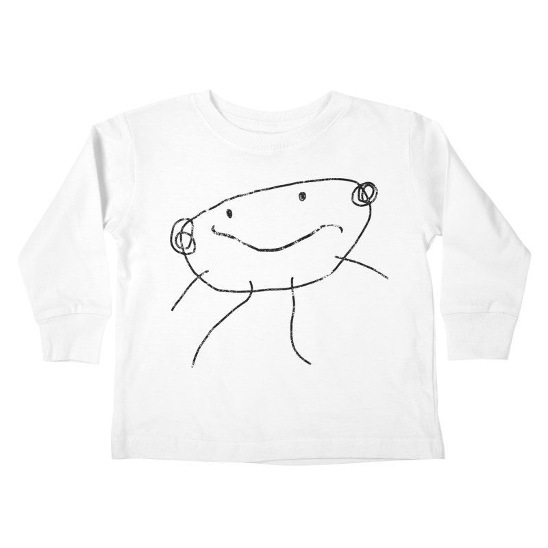 Smilie Man 2 Kids Toddler Longsleeve T-Shirt by Project M's Artist Shop