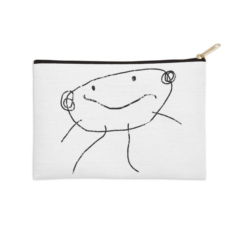Smilie Man 2 Accessories Zip Pouch by Project M's Artist Shop
