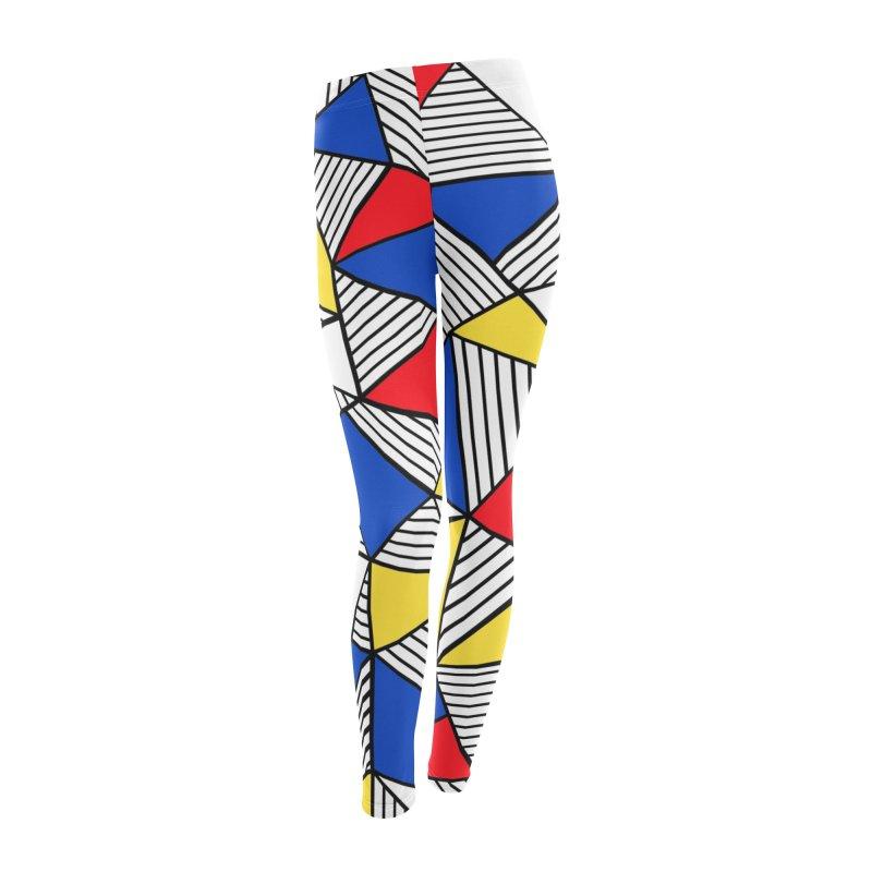 Ab Blocks Mond Women's Leggings Bottoms by Project M's Artist Shop