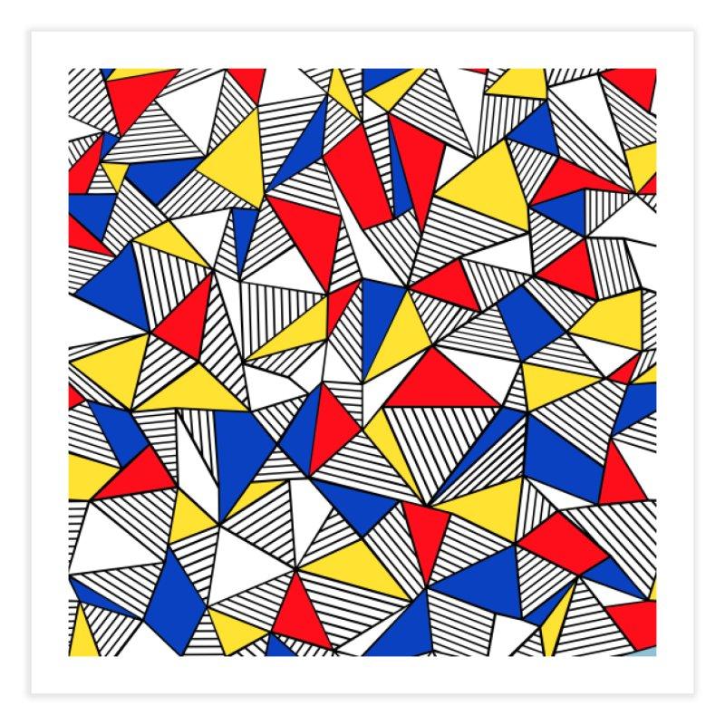Ab Blocks Mond Home Fine Art Print by Project M's Artist Shop