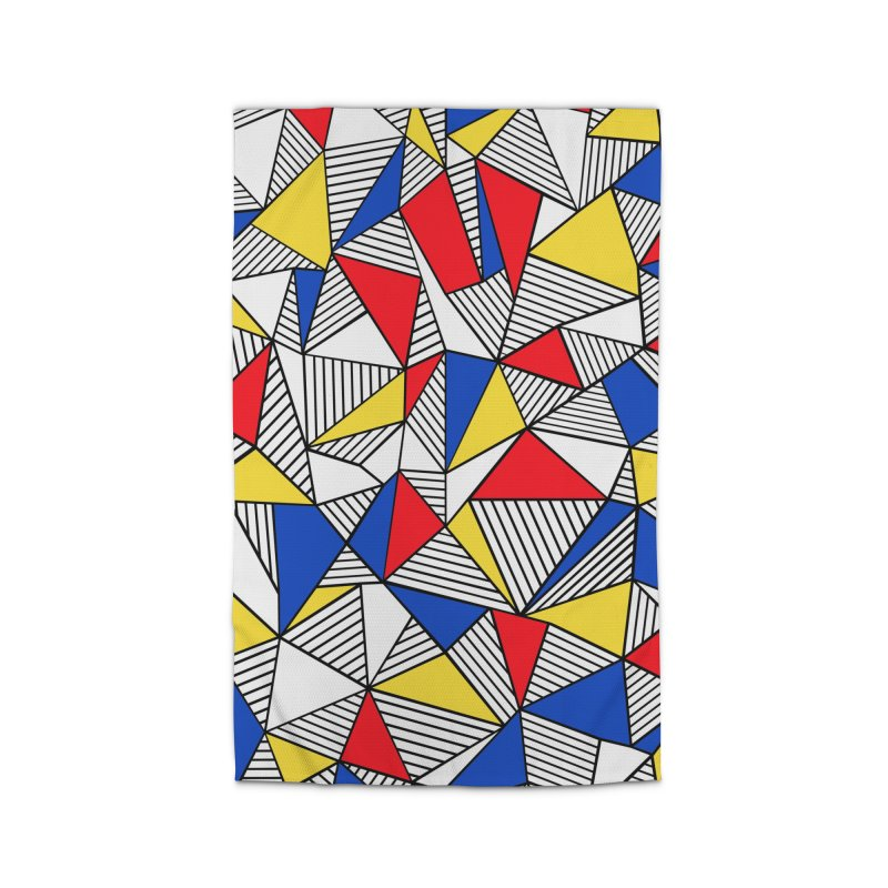 Ab Blocks Mond Home Rug by Project M's Artist Shop