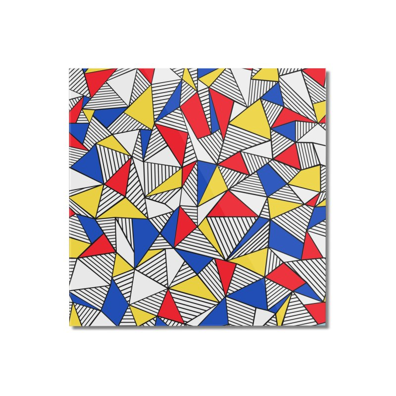 Ab Blocks Mond Home Mounted Acrylic Print by Project M's Artist Shop