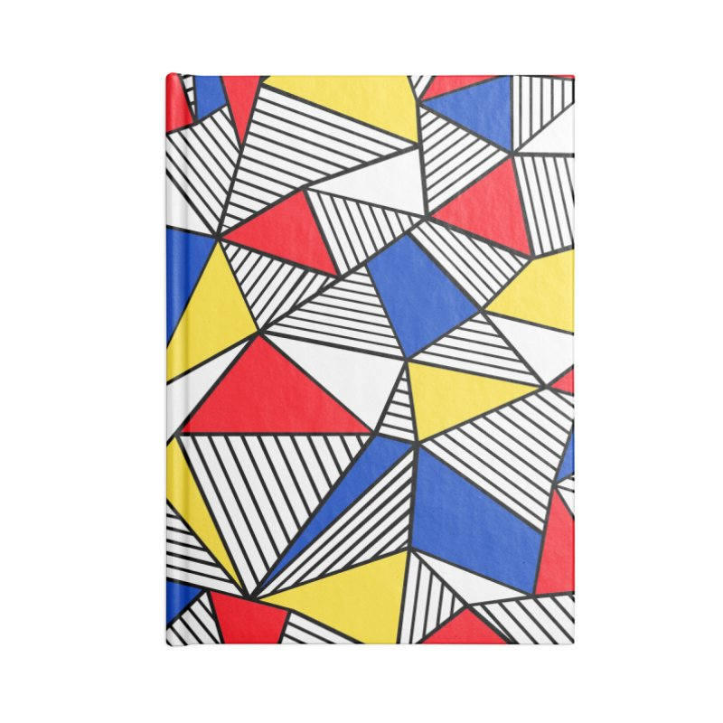 Ab Blocks Mond Accessories Lined Journal Notebook by Project M's Artist Shop