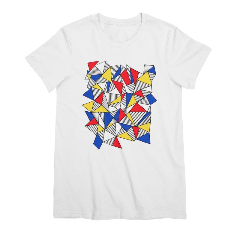 Ab Blocks Mond Women's Premium T-Shirt by Project M's Artist Shop