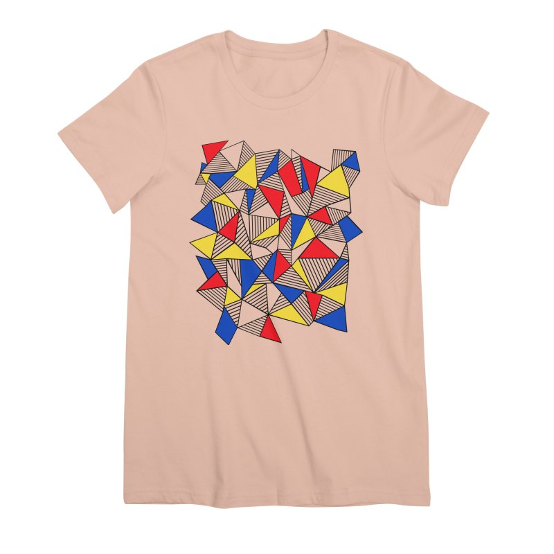 Ab Blocks Mond Women's Premium T-Shirt by Project M's Artist Shop