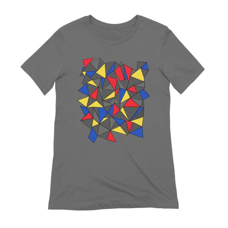 Ab Blocks Mond Women's Extra Soft T-Shirt by Project M's Artist Shop