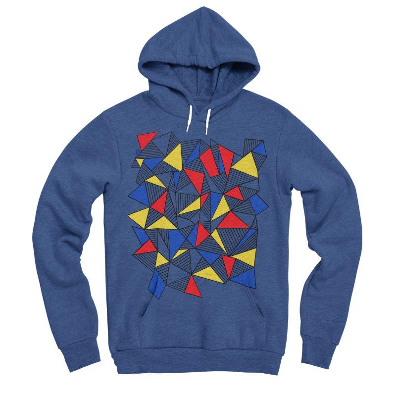 Ab Blocks Mond Women's Sponge Fleece Pullover Hoody by Project M's Artist Shop