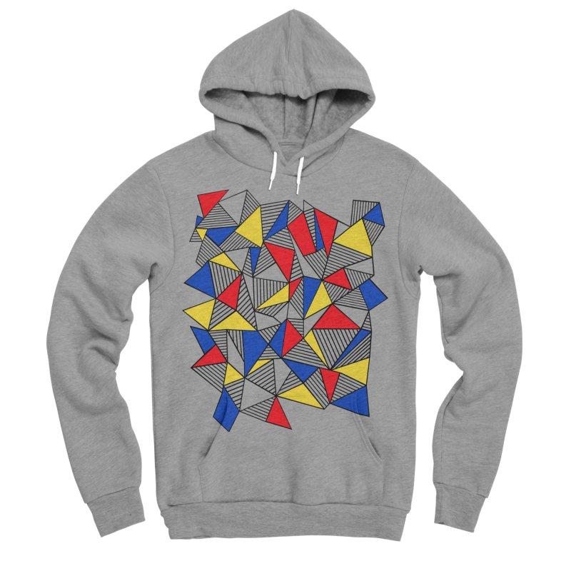Ab Blocks Mond Men's Sponge Fleece Pullover Hoody by Project M's Artist Shop