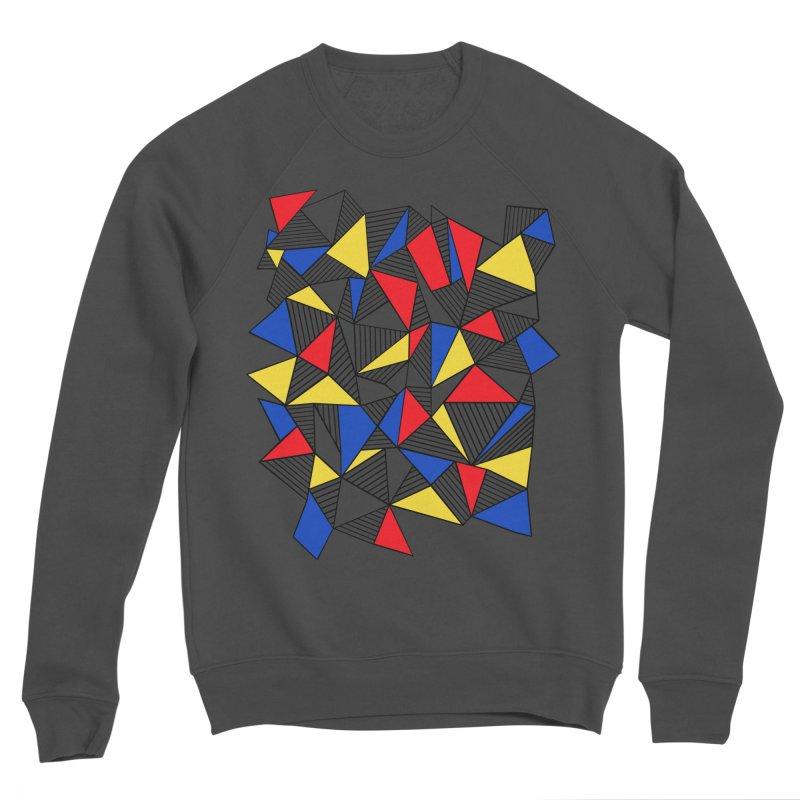 Ab Blocks Mond Women's Sponge Fleece Sweatshirt by Project M's Artist Shop