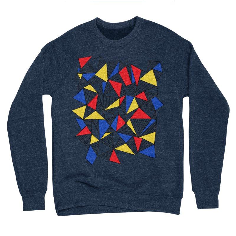 Ab Blocks Mond Men's Sponge Fleece Sweatshirt by Project M's Artist Shop