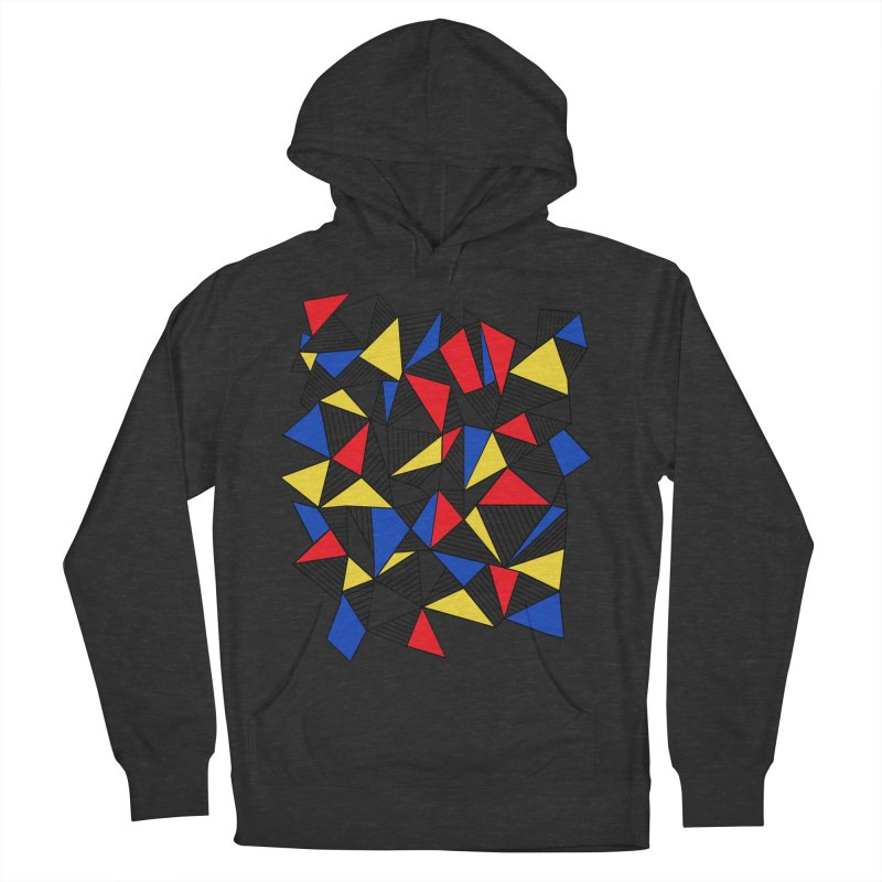 Ab Blocks Mond Women's French Terry Pullover Hoody by Project M's Artist Shop