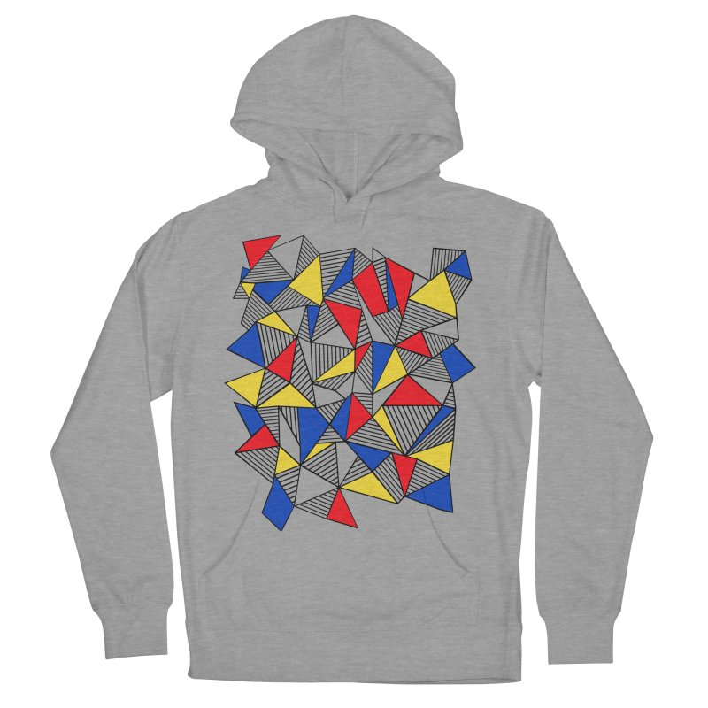 Ab Blocks Mond Men's French Terry Pullover Hoody by Project M's Artist Shop
