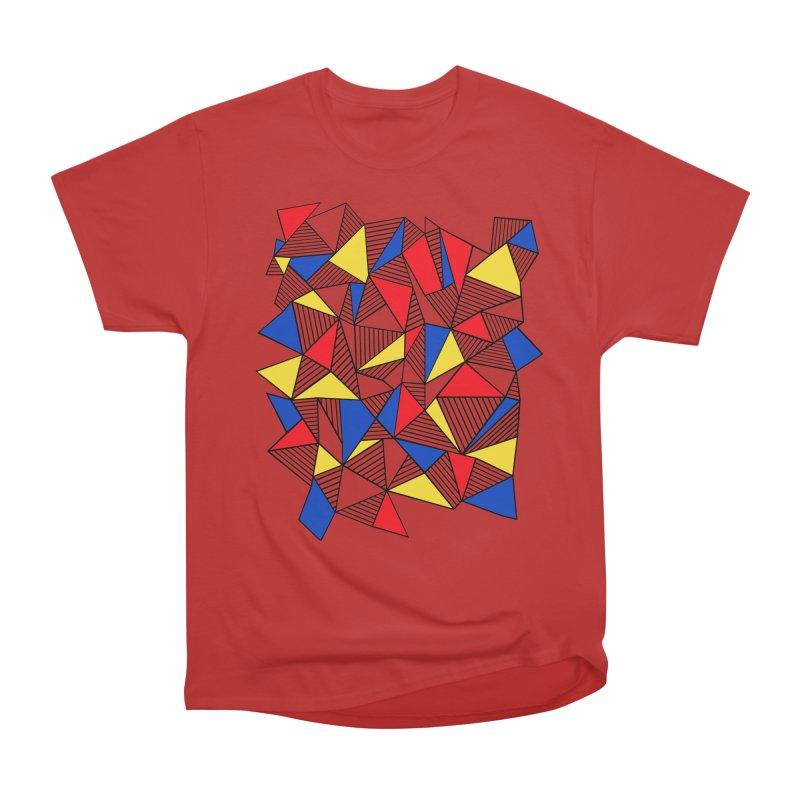 Ab Blocks Mond Women's Heavyweight Unisex T-Shirt by Project M's Artist Shop