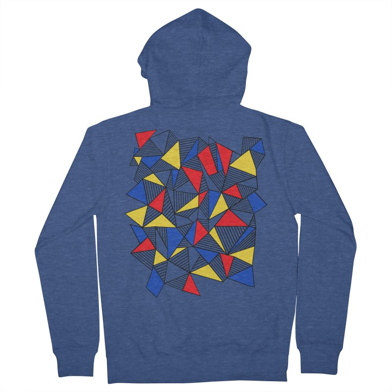 Ab Blocks Mond Men's French Terry Zip-Up Hoody by Project M's Artist Shop