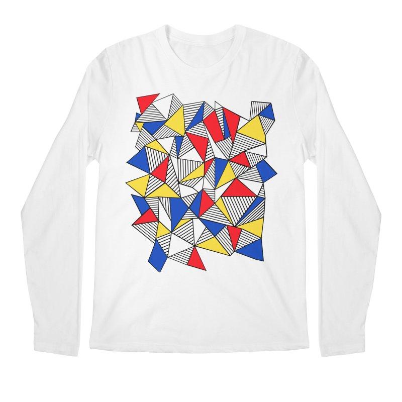 Ab Blocks Mond Men's Regular Longsleeve T-Shirt by Project M's Artist Shop