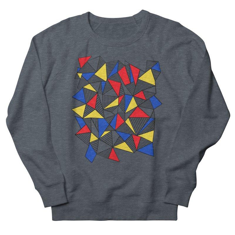 Ab Blocks Mond Women's French Terry Sweatshirt by Project M's Artist Shop