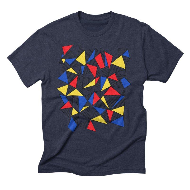 Ab Blocks Mond Men's Triblend T-Shirt by Project M's Artist Shop