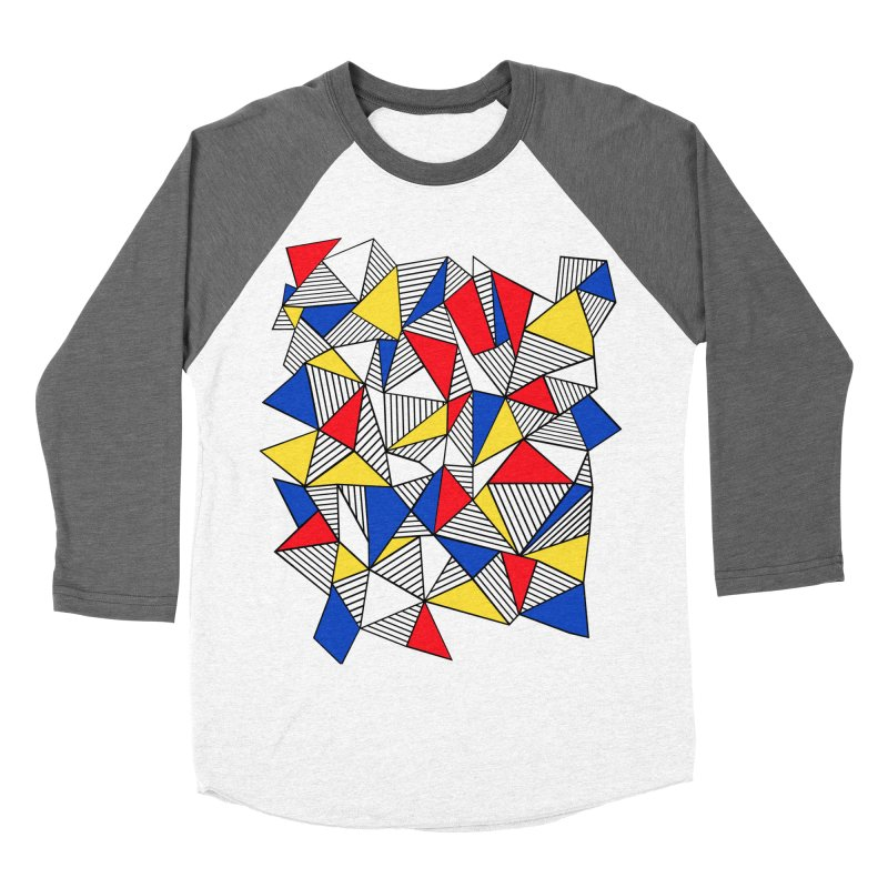 Ab Blocks Mond Women's Baseball Triblend Longsleeve T-Shirt by Project M's Artist Shop
