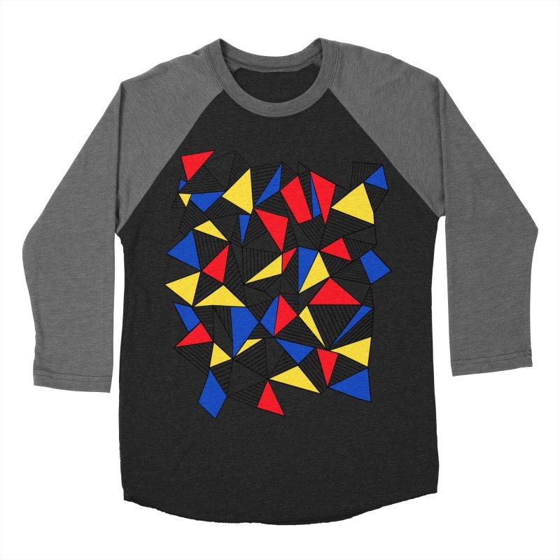 Ab Blocks Mond Men's Baseball Triblend Longsleeve T-Shirt by Project M's Artist Shop