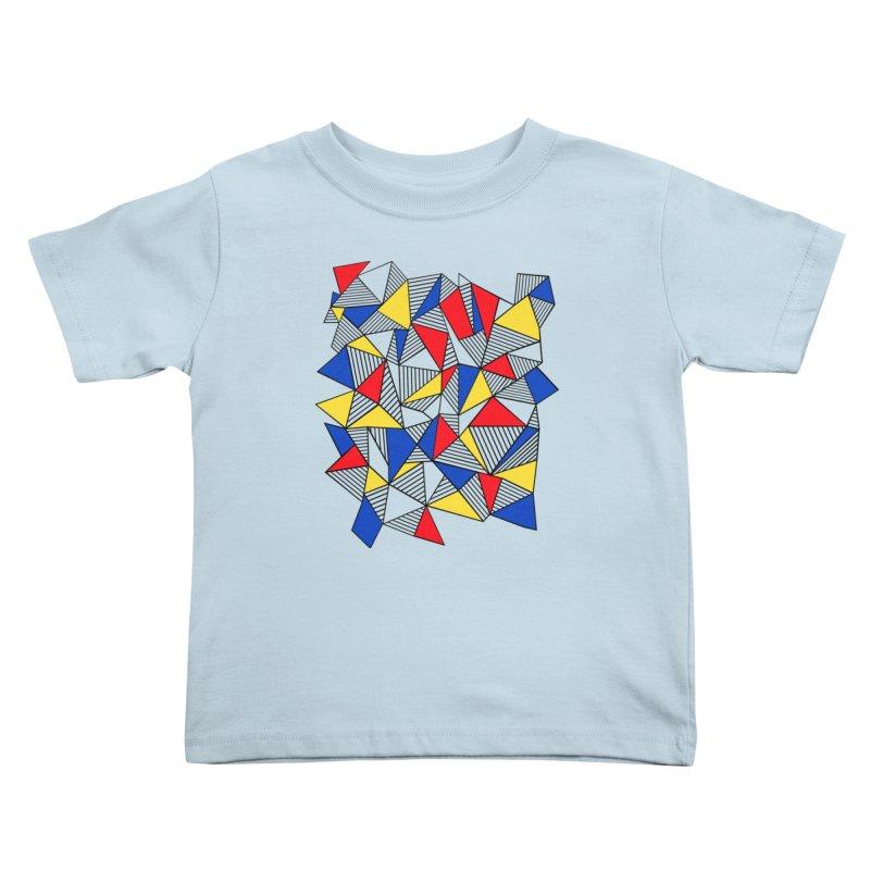 Ab Blocks Mond Kids Toddler T-Shirt by Project M's Artist Shop