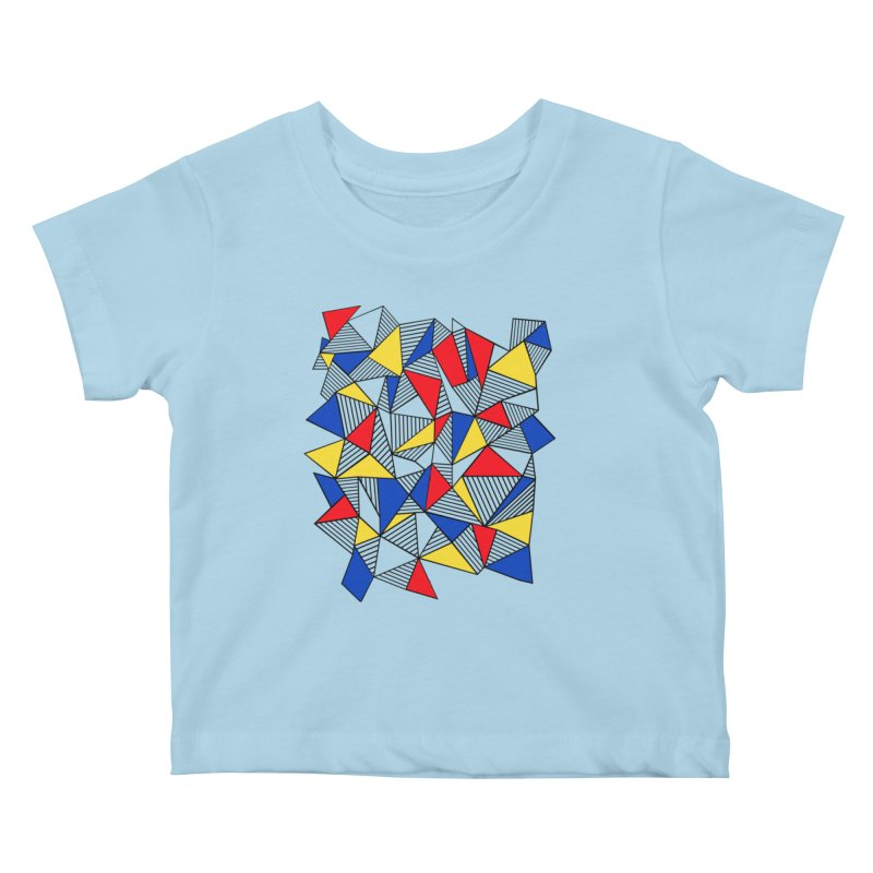 Ab Blocks Mond Kids Baby T-Shirt by Project M's Artist Shop