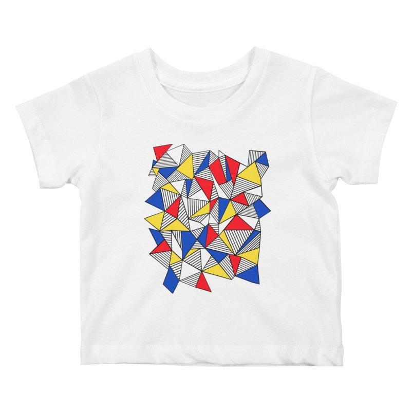Ab Blocks Mond Kids Baby T-Shirt by Project M's Artist Shop