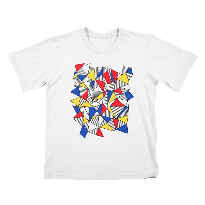 Ab Blocks Mond Kids T-Shirt by Project M's Artist Shop