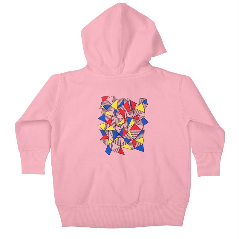 Ab Blocks Mond Kids Baby Zip-Up Hoody by Project M's Artist Shop