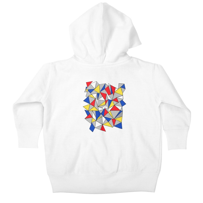 Ab Blocks Mond Kids Baby Zip-Up Hoody by Project M's Artist Shop